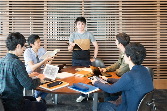 起業勉強会の様子