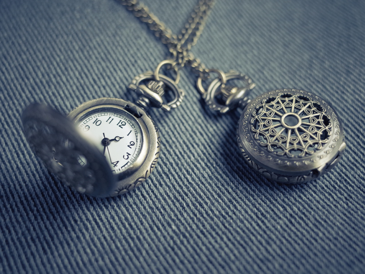 2つの懐中時計