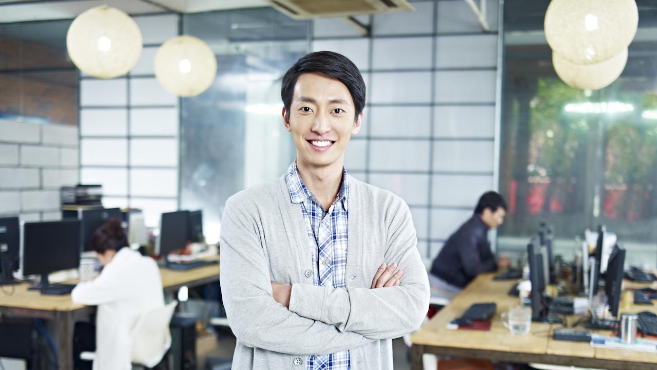 起業家の男性